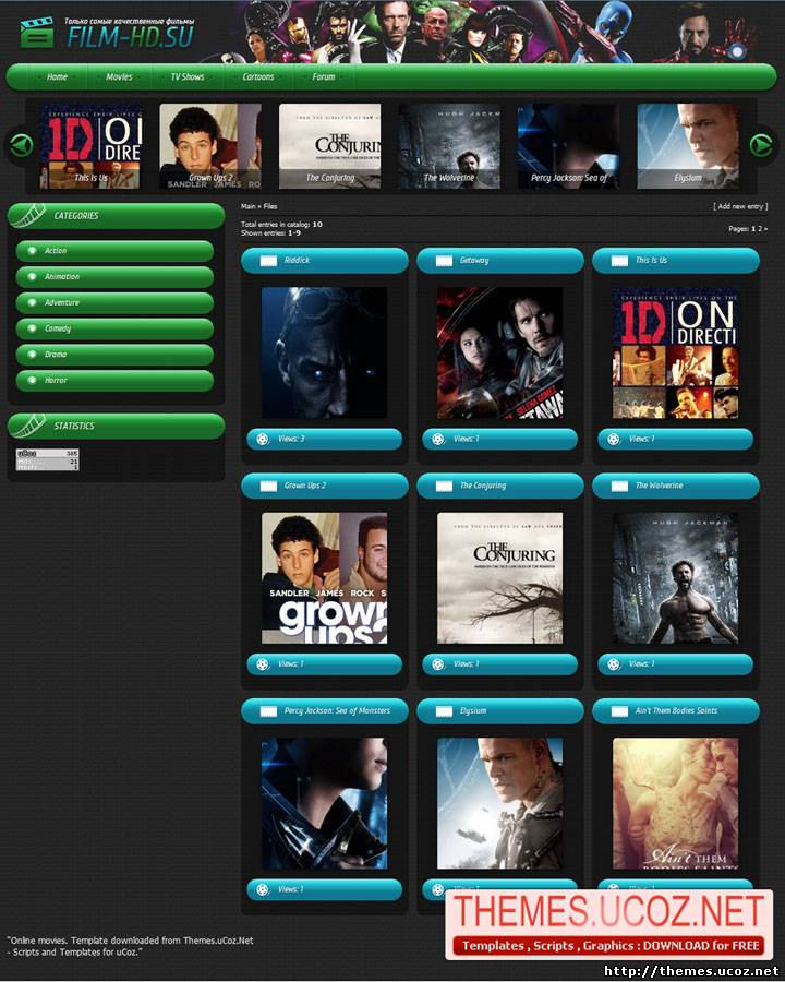Movies ucoz rips, ucoz templates, ucoz themes, ucoz design.