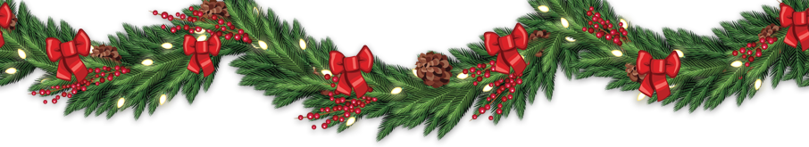 Image result for christmas garland border transparent